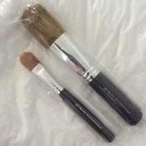 Unopened bareMinerals face brushes